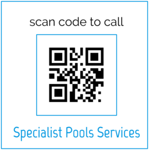 QR code to call Specialist Pools Services